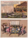 Grocery Victorian Trade Cards