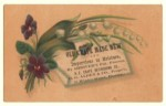 New England Crape Refinishing Co. Victorian Trade Card