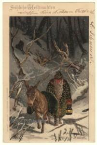 Mailick Santa Claus Postcard