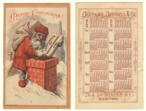 1876 Shepard, Norwell & Co. Victorian Trade Card