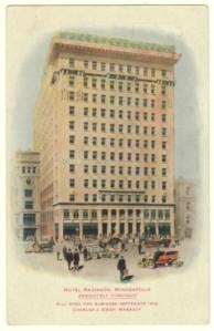 Radisson Hotel Advertising Postcard
