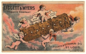Ligget & Myers Tobacco Trade Card
