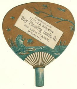 Suplee Needle Trade Card
