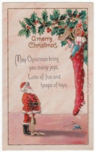 Santa Claus Vintage Christmas Postcard