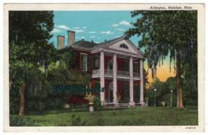 Arlington Mansion in Natchez, MS