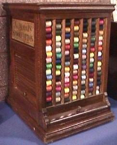 JP Coats Display Cabinet