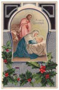 Nativity_Postcard_Art_Deco