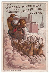 Atmore's Mince Meat Trade Card - Santa Claus