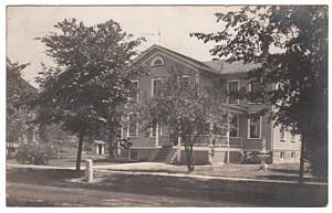 SXPC Real Photo Postcard, Victorian House