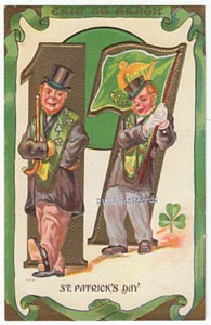 1908 P. Sander St. Patricks Day Postcard