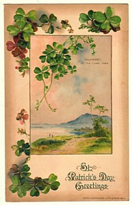 1914 John Winsch St. Patricks Day Postcard