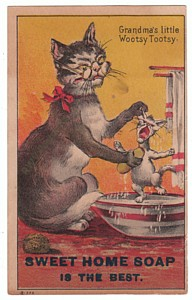 Sweet Home Soap Victorian Trade Card