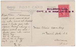 Archie Gunn Postcard The Sentry Moon