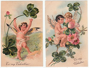 PFB Cupid Postcards A
