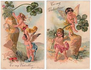 PFB Cupid Postcards C