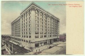 PE Terminal Building Postcard